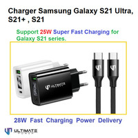 Charger Samsung S21 Ultra S21+ S21 Plus 25W 28W Ultimate TCL2QPD+CTC12