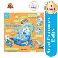 Baby Elle Fold Up Infant Seat Bouncer Bayi Kursi Bayi - Biru #03