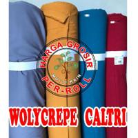 multi kain wollycrepe wolicrepe wolycrepe caltri roll per 50 yard