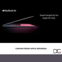 """Macbook Air 13"""" M1 2021 Garansi Resmi Apple Indonesia - GRAY, 256GB"""