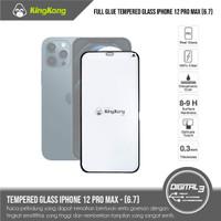 Kingkong Full Glue Tempered Glass iPhone 12 Pro Max Screen Guard