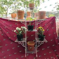 Rak pot tanaman 7 susun