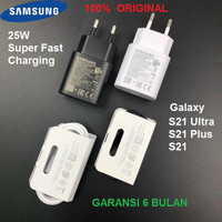 Charger SAMSUNG S21 Ultra S21+ S21 Plus 25W Super Fast Charging + Cabl
