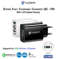 Charger iPhone 12 Pro Max 12 Pro 12 Mini 20W 28W Ultimate TCL2QPD