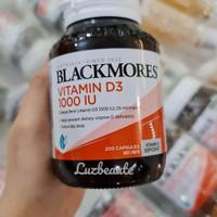 READY STOCK! Blackmores Vitamin D3 1000IU - 200Caps