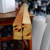 Kayu Nangka 2cm x 3cm x 1meter kayu balok kayu keras u/ rak tanaman