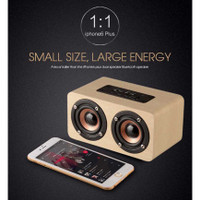 Speaker Bluetooth Portable Wireless Microphone Subwoofer TV Bass AUX