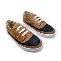 Sepatu Anak Laki-laki Fit To Feet Arra - Biru/Coklat
