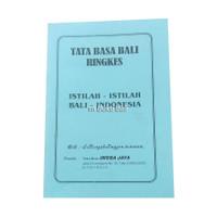 Tata Bahasa Bali Ringkes Istilah-istilah Bali-Indonesia