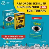 PAKET BUNDLING BUKU 1984 DAN ANIMAL FARM - GEORGE ORWELL