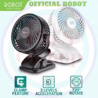 Robot Portable Mini Fan RT BF10/ Kipas Angin Mini Robot Resmi
