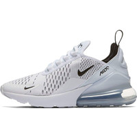 NIKE AIR MAX 270 WHITE BLACK ORIGINAL SNEAKERS / IMPORT / 100% BNIB - Putih, 39
