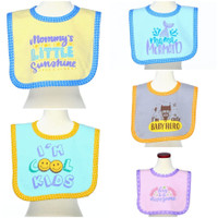 Babybee Weaning Bibs Wordy Collection