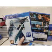 PROMO !! PS4 FINAL FANTASY VII REMAKE REG 1 CD GAME BD PS 4 English