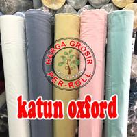 multi kain oxford oxfor cotton katun lebar 1.5 meter per roll 50 yard