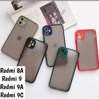 Redmi 8A 9 9A 9C Softcase Mate Dove Case Aero Full Camera Casing