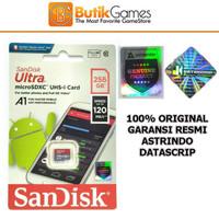 SanDisk Ultra A1 Micro SD Card 256GB Original 256 gb microsd