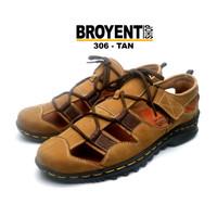 Sepatu Sandal Pria Kulit Asli 306