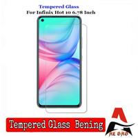 Tempered Glass INFINIX HOT 10 Screen Protection Anti Gores Kaca