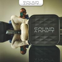 SoundAddict SA-501 Mini Bluetooth Speaker - Grey - Hitam