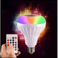 Lampu Bohlam LED Speaker Musik Bluetooth 0707 0711