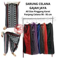 Sarung Celana Dewasa Gajah Jaya - Dobby, Warna Acak