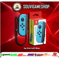PROMO !! Joy Con JoyCon Controller Left L Neon Blue Nintendo Switch