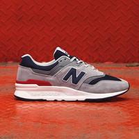 New Balance 997 H Grey Navy Red Original