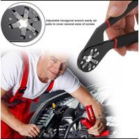 Kunci Pas Hexagon 6 Inch / New Outer Hexagonal Magic Wrench 6 Inch