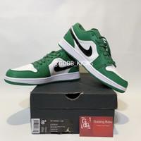 Nike Air Jordan 1 Low Pine Green 100% ORIGINAL MATERIAL GUARANTEE
