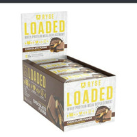 RYSE LOADED WHEY PROTEIN BAR / MEAL REPLACEMENT / 12 PCS /16GR PROTEIN