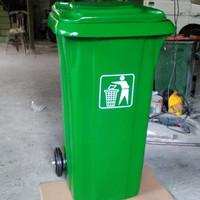 Tong tempat sampah besar + roda 120liter TERMURAH TERLARIS