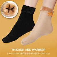 VELVET Warm Thermal Winter Socks Kaos Kaki Tebal Musim Dingin