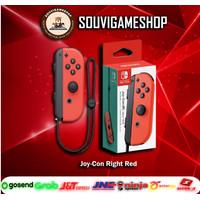 PROMO !! Joy Con JoyCon Controller Right R Neon Red Nintendo Switch