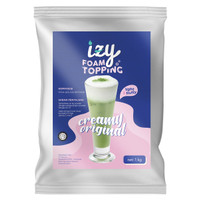 IZY Creamy Original Foam Topping 1kg