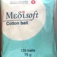 Medisoft Cotton Ball 75gr Isi 120 balls