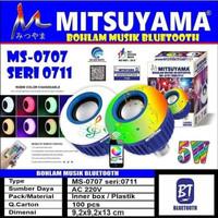 Bohlam Lampu LED Musik Speaker Disco Mitsuyama MS-0707 Seri 0711