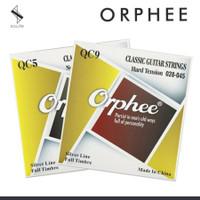 SENAR GITAR ORPHEE QC9 NYLON KLASIK CLASSIC GUITAR HARD TENSION