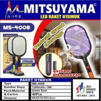Raket Nyamuk / Raket Perangkap Nyamuk Cas Mitsuyama MS-4008