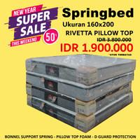 Kasur Springbed - Springbed 160x200 - Rivetta - Superland