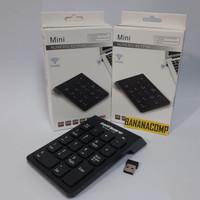 Keypad Numeric Wireless 2.4GHz 10m Num Lock Pad Keyboard Angka