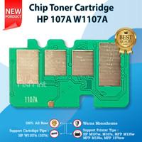 Chip Toner Cartridge HP 107A W1107A 107 M135 M137 M135a M135w