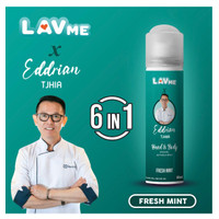 Lavme X Eddrian 6 In 1 Hand & Body Spray Anti Virus - Fresh Mint