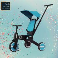 Xiaomi Bebehoo Gen 2 3-in-1 Stroller Sepeda Bayi Lipat Folding Trike - Biru Muda
