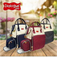 Dialogue Baby Backpack Moms With Coolerbag DGT7510 Dialogue Tas Backpa