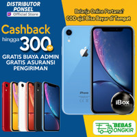 iPhone XR 128GB 64 GB Garansi Resmi 128 GB 64 GB iPhone X R