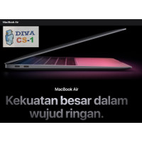 Apple MacBook Air 13 2021 MGN93ID Apple M1 Chip 8 Core Resmi iBox