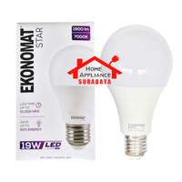 Lampu LED Ekonomat Star 19W 19 Watt Cahaya Putih