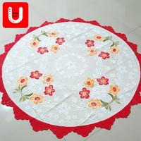 Taplak Meja Makan Bulat Diameter 135 cm (4-6 Kursi) Polyester Anjoly