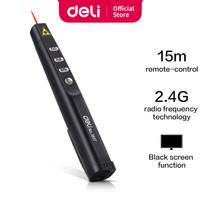 Deli Laser Pointer Wireless pen alat presentasi jarak 15 M laser 3937